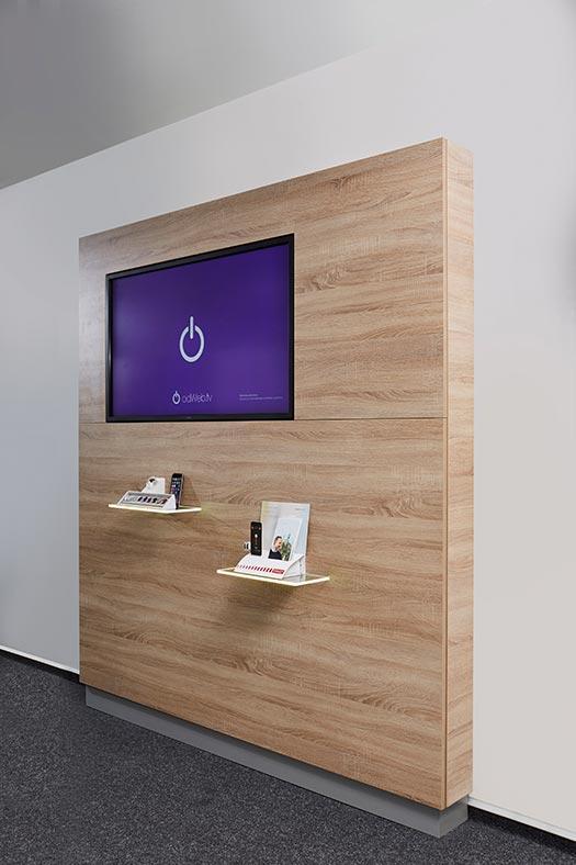 Tv medienwand fabulous with tv medienwand top ideen fernsehwand spektakulre auf wohnzimmer - Medienwand tv ...